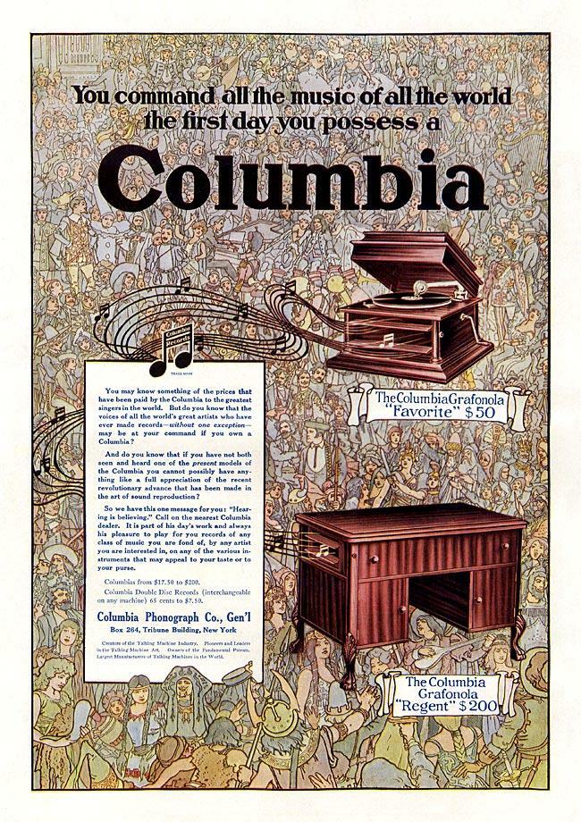 Columbia Graphonola Model D