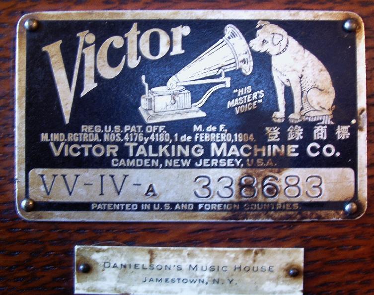 victor talking machine vv iv